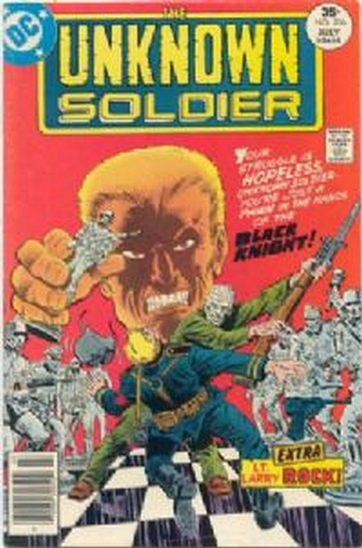 Cover of Unknown Soldier (Vol 1) #206. One of 250,000 Vintage American Comics on sale from Krypton!