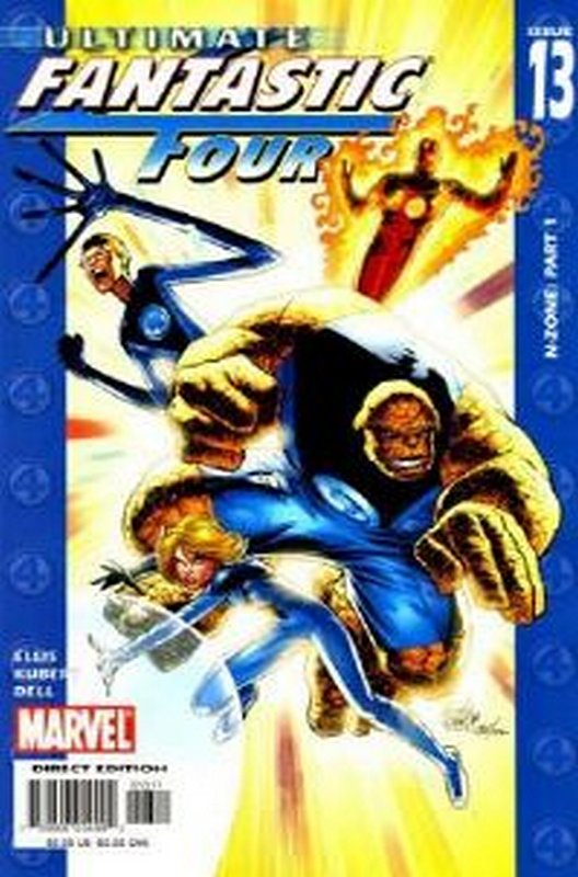Cover of Ultimate Fantastic Four (Vol 1) #13. One of 250,000 Vintage American Comics on sale from Krypton!