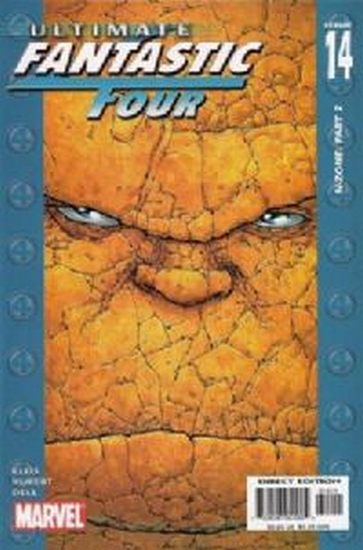 Cover of Ultimate Fantastic Four (Vol 1) #14. One of 250,000 Vintage American Comics on sale from Krypton!