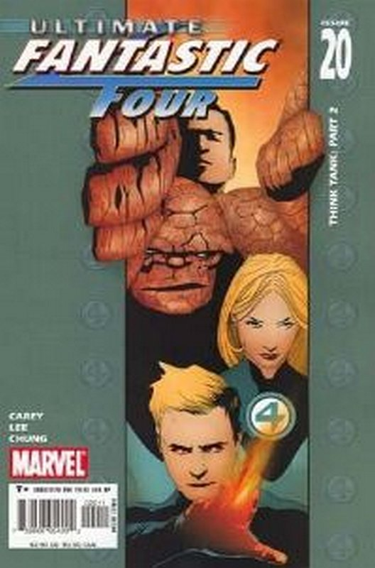 Cover of Ultimate Fantastic Four (Vol 1) #20. One of 250,000 Vintage American Comics on sale from Krypton!
