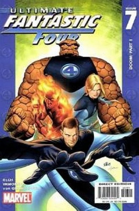 Cover of Ultimate Fantastic Four (Vol 1) #7. One of 250,000 Vintage American Comics on sale from Krypton!
