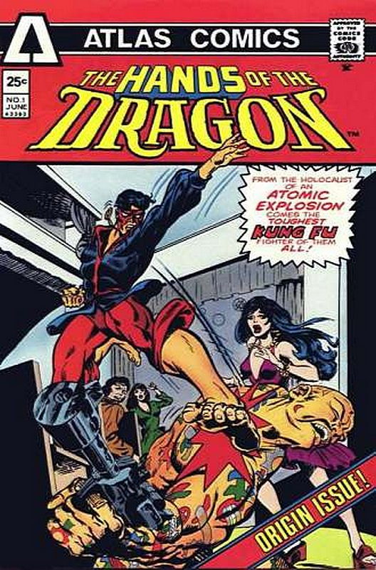 Cover of Hands of the Dragon (Vol 1) #1. One of 250,000 Vintage American Comics on sale from Krypton!