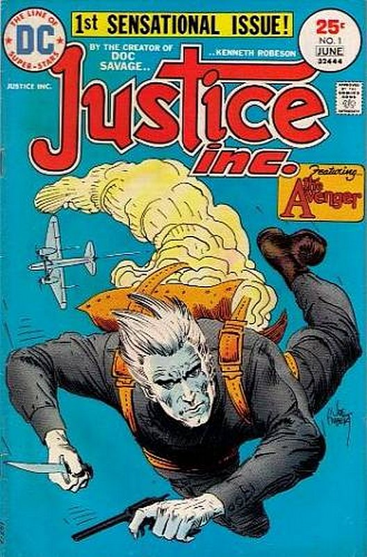 Cover of Justice Inc. (Vol 1) #1. One of 250,000 Vintage American Comics on sale from Krypton!