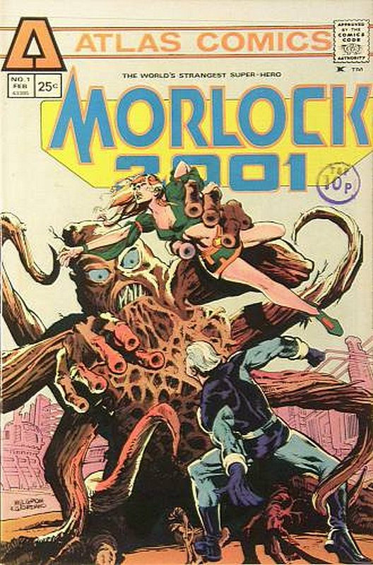 Cover of Morlock 2001 (Vol 1) #1. One of 250,000 Vintage American Comics on sale from Krypton!