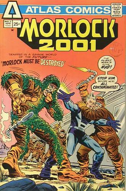 Cover of Morlock 2001 (Vol 1) #2. One of 250,000 Vintage American Comics on sale from Krypton!