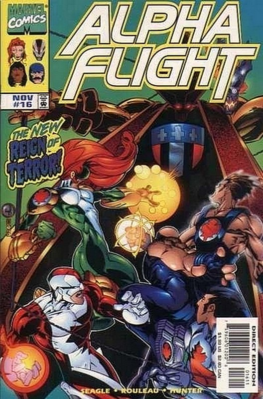 Cover of Alpha Flight (Vol 2) #16. One of 250,000 Vintage American Comics on sale from Krypton!