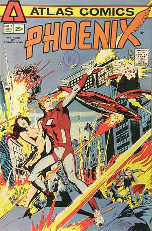 Cover of Phoenix (Vol 1) (Atlas) #1. One of 250,000 Vintage American Comics on sale from Krypton!