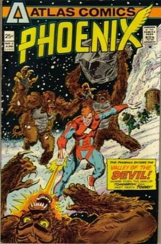 Cover of Phoenix (Vol 1) (Atlas) #3. One of 250,000 Vintage American Comics on sale from Krypton!