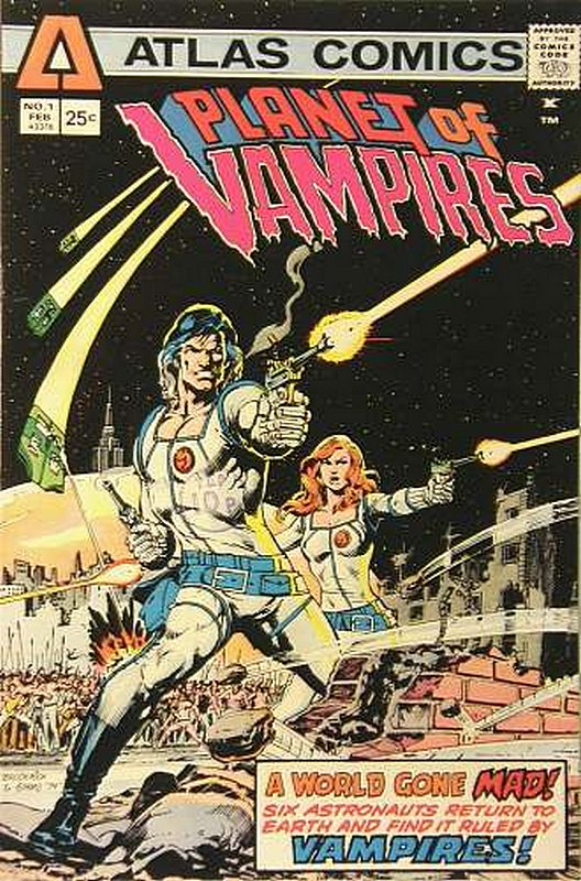 Cover of Planet of Vampires (Vol 1) #1. One of 250,000 Vintage American Comics on sale from Krypton!