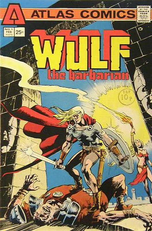 Cover of Wulf the Barbarian (Vol 1) #1. One of 250,000 Vintage American Comics on sale from Krypton!