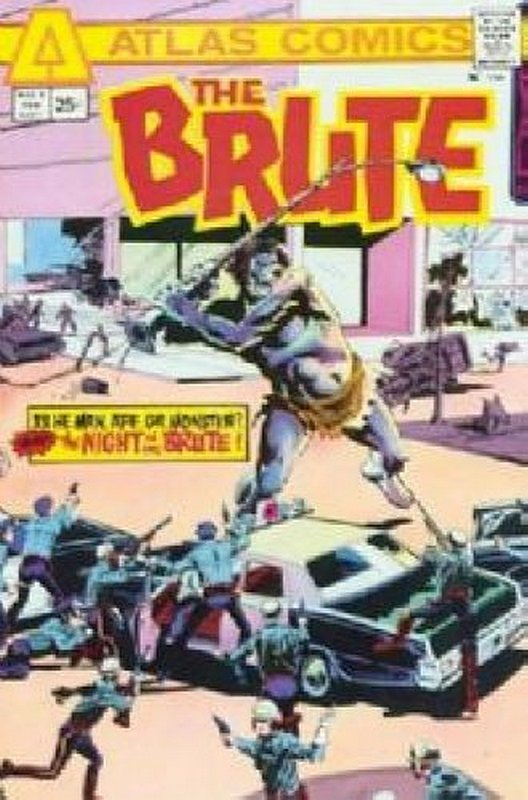 Cover of Brute (Vol 1) The #1. One of 250,000 Vintage American Comics on sale from Krypton!