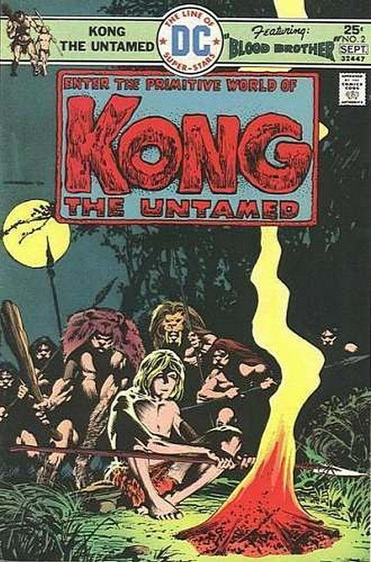 Cover of Kong The Untamed (Vol 1) #2. One of 250,000 Vintage American Comics on sale from Krypton!