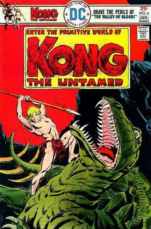 Cover of Kong The Untamed (Vol 1) #4. One of 250,000 Vintage American Comics on sale from Krypton!