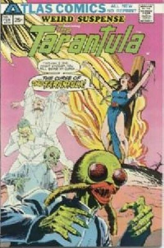 Cover of Weird Suspense (Vol 1) #1. One of 250,000 Vintage American Comics on sale from Krypton!