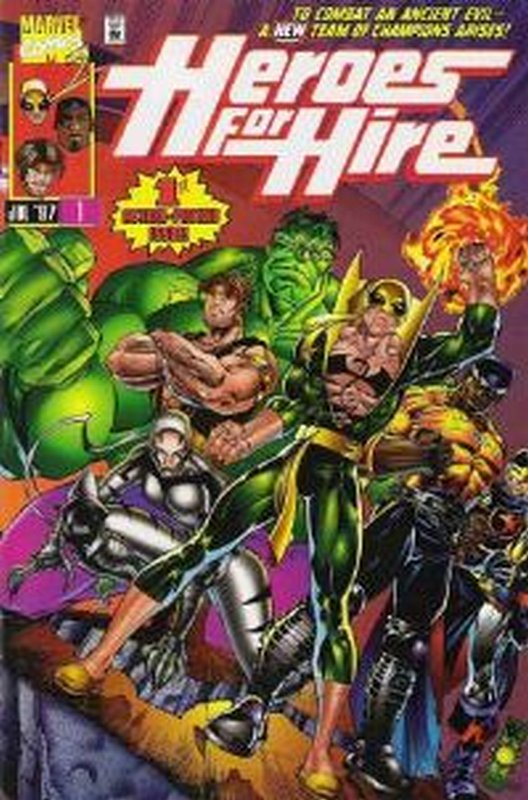 Cover of Heroes for Hire (Vol 1) #1. One of 250,000 Vintage American Comics on sale from Krypton!