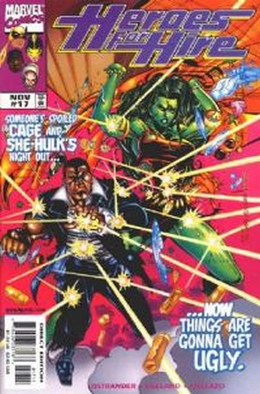 Cover of Heroes for Hire (Vol 1) #17. One of 250,000 Vintage American Comics on sale from Krypton!