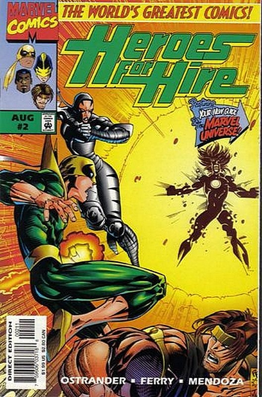 Cover of Heroes for Hire (Vol 1) #2. One of 250,000 Vintage American Comics on sale from Krypton!