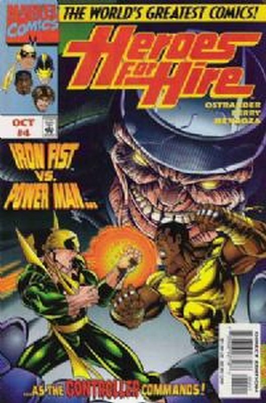 Cover of Heroes for Hire (Vol 1) #4. One of 250,000 Vintage American Comics on sale from Krypton!