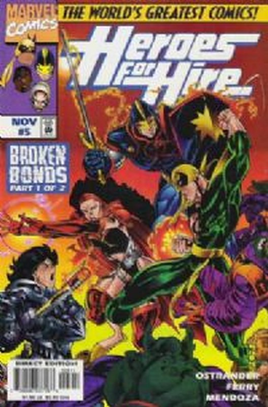 Cover of Heroes for Hire (Vol 1) #5. One of 250,000 Vintage American Comics on sale from Krypton!