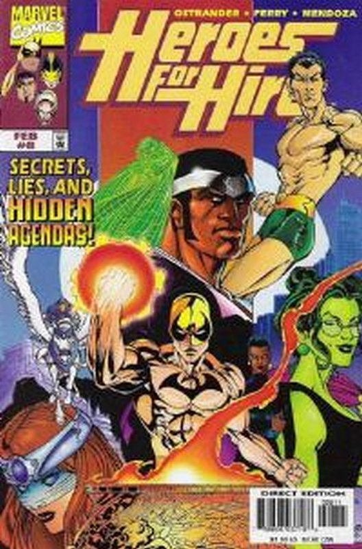 Cover of Heroes for Hire (Vol 1) #8. One of 250,000 Vintage American Comics on sale from Krypton!