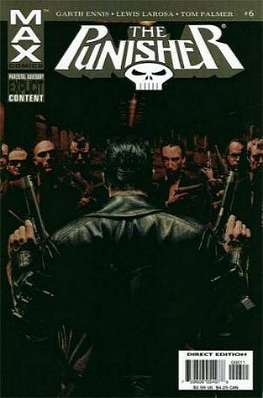 Cover of Punisher Max (Vol 1) #6. One of 250,000 Vintage American Comics on sale from Krypton!