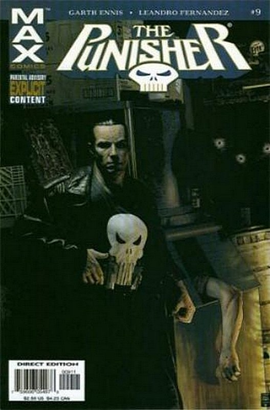 Cover of Punisher Max (Vol 1) #9. One of 250,000 Vintage American Comics on sale from Krypton!