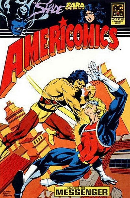 Cover of Americomics (Vol 1) #2. One of 250,000 Vintage American Comics on sale from Krypton!