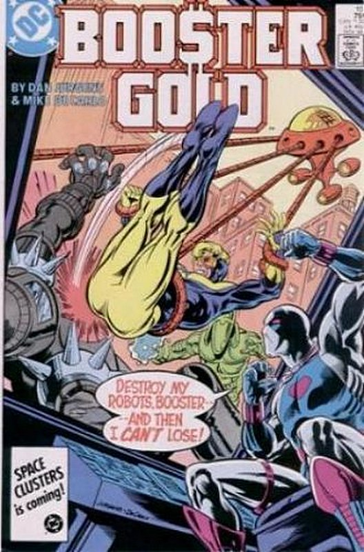 Cover of Booster Gold (Vol 1) #10. One of 250,000 Vintage American Comics on sale from Krypton!