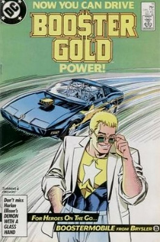 Cover of Booster Gold (Vol 1) #11. One of 250,000 Vintage American Comics on sale from Krypton!