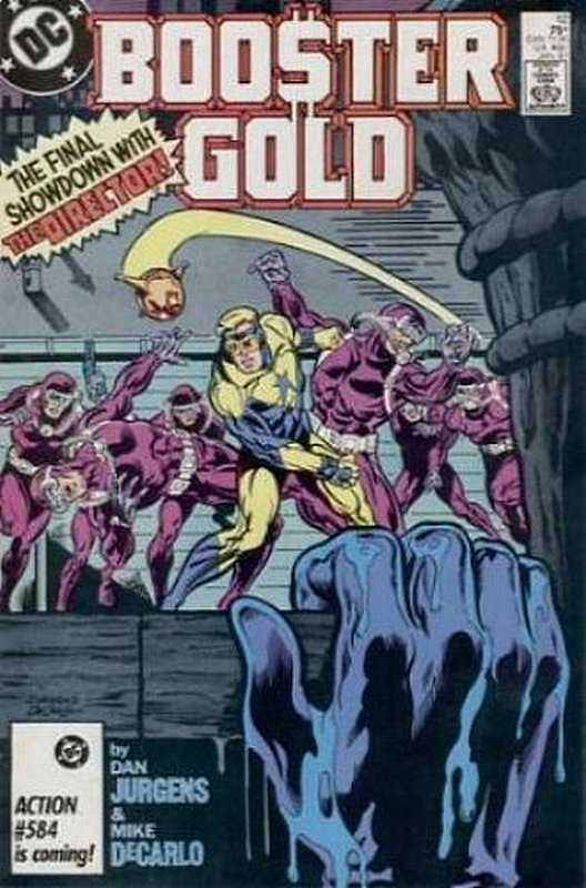 Cover of Booster Gold (Vol 1) #12. One of 250,000 Vintage American Comics on sale from Krypton!