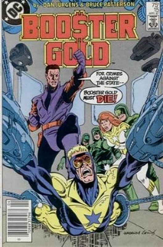 Cover of Booster Gold (Vol 1) #15. One of 250,000 Vintage American Comics on sale from Krypton!