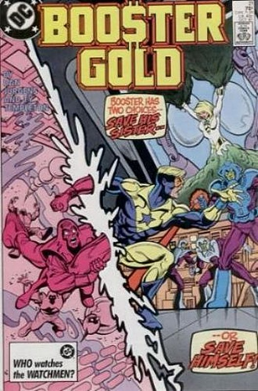 Cover of Booster Gold (Vol 1) #21. One of 250,000 Vintage American Comics on sale from Krypton!