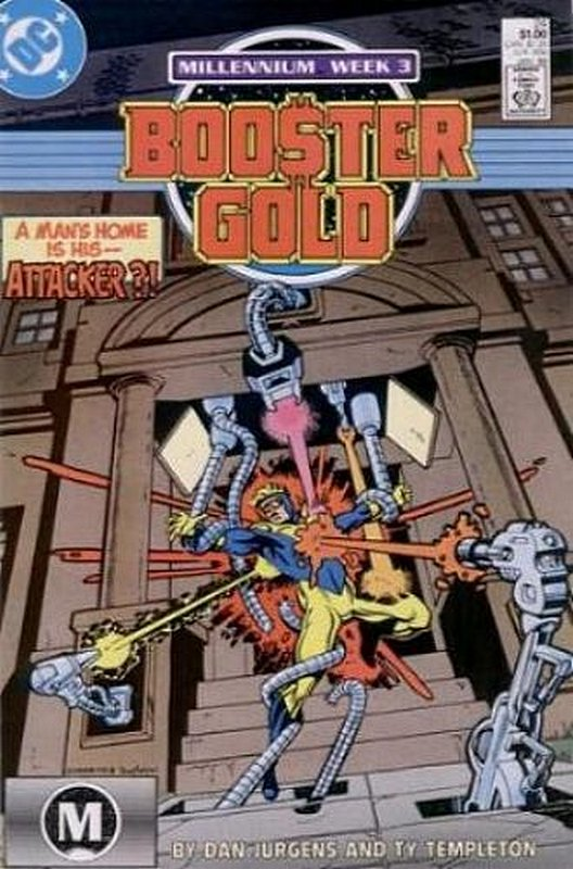 Cover of Booster Gold (Vol 1) #24. One of 250,000 Vintage American Comics on sale from Krypton!