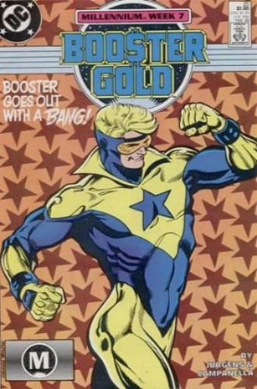 Cover of Booster Gold (Vol 1) #25. One of 250,000 Vintage American Comics on sale from Krypton!