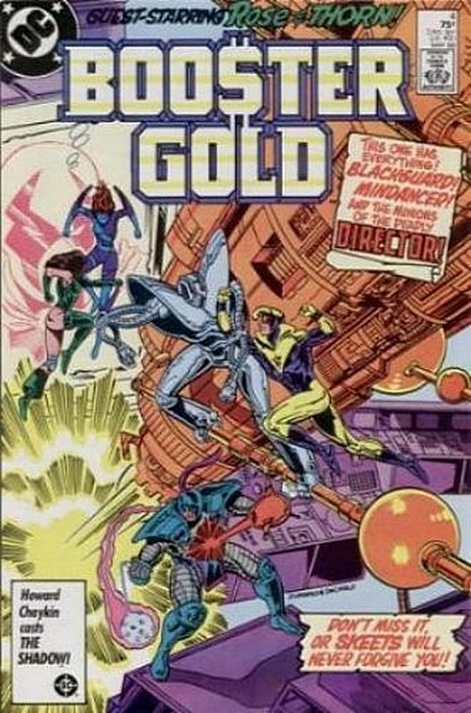 Cover of Booster Gold (Vol 1) #4. One of 250,000 Vintage American Comics on sale from Krypton!