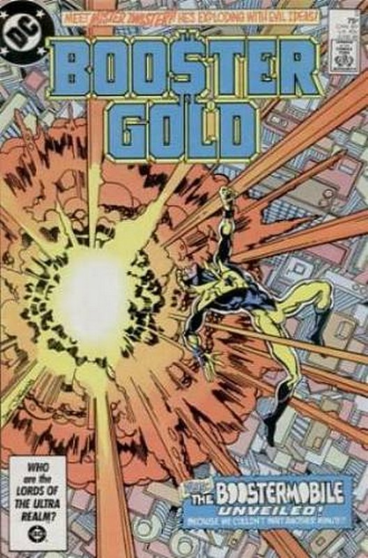 Cover of Booster Gold (Vol 1) #5. One of 250,000 Vintage American Comics on sale from Krypton!