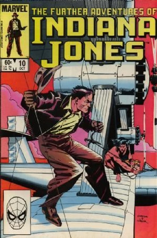 Cover of Indiana Jones (Vol 1) Further Adventures of #10. One of 250,000 Vintage American Comics on sale from Krypton!