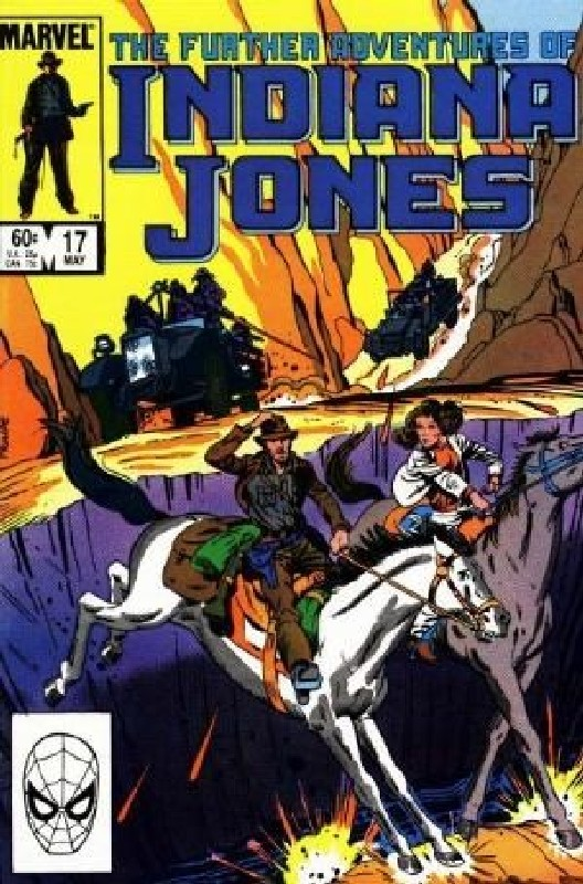 Cover of Indiana Jones (Vol 1) Further Adventures of #17. One of 250,000 Vintage American Comics on sale from Krypton!