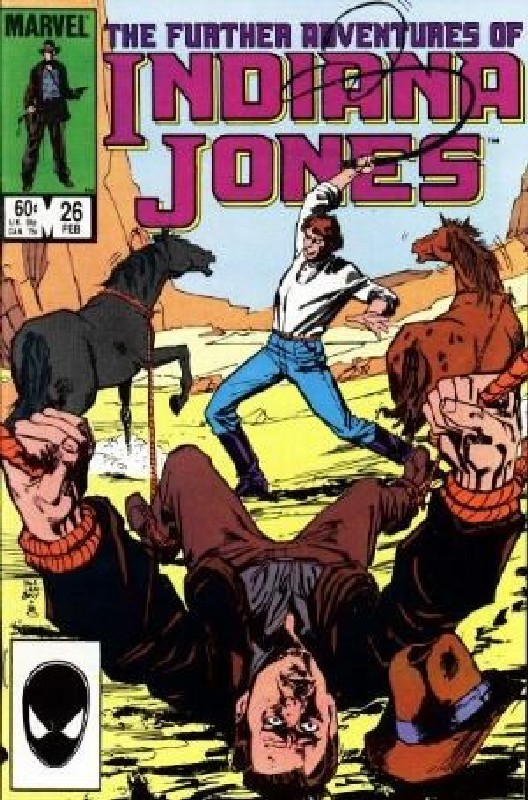 Cover of Indiana Jones (Vol 1) Further Adventures of #26. One of 250,000 Vintage American Comics on sale from Krypton!
