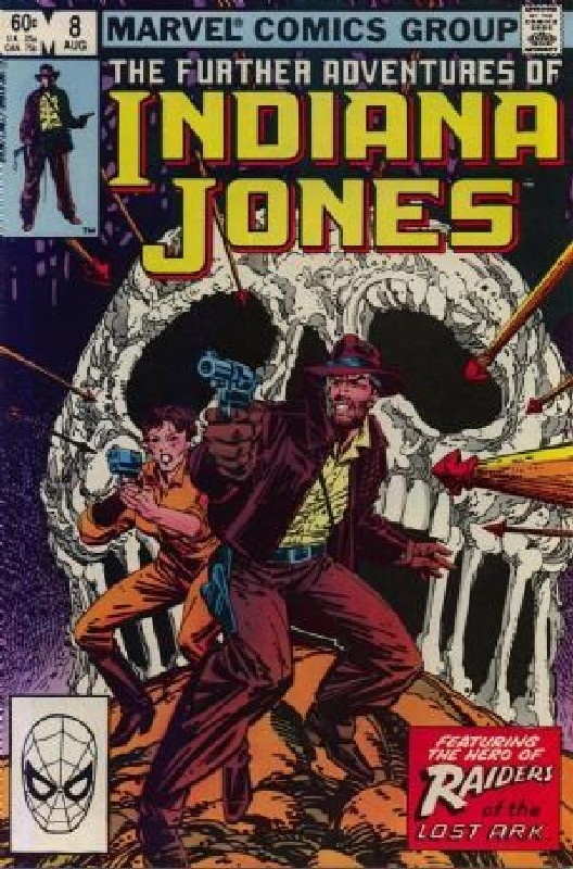 Cover of Indiana Jones (Vol 1) Further Adventures of #8. One of 250,000 Vintage American Comics on sale from Krypton!