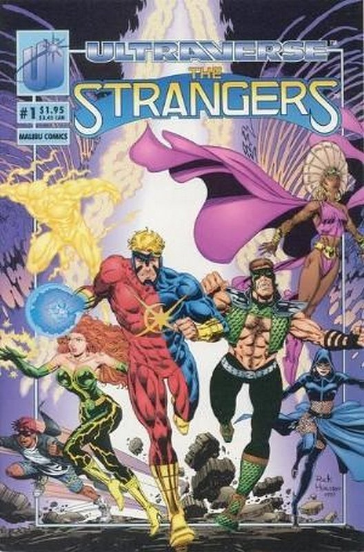 Cover of Strangers (Vol 1) The #1. One of 250,000 Vintage American Comics on sale from Krypton!