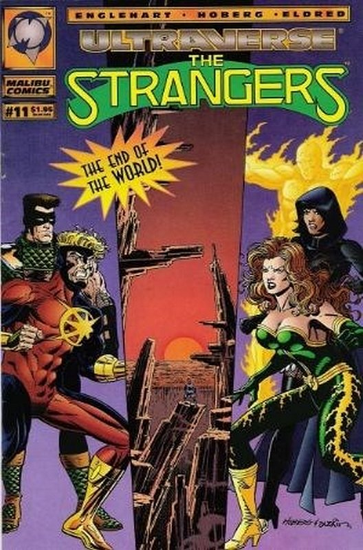 Cover of Strangers (Vol 1) The #11. One of 250,000 Vintage American Comics on sale from Krypton!