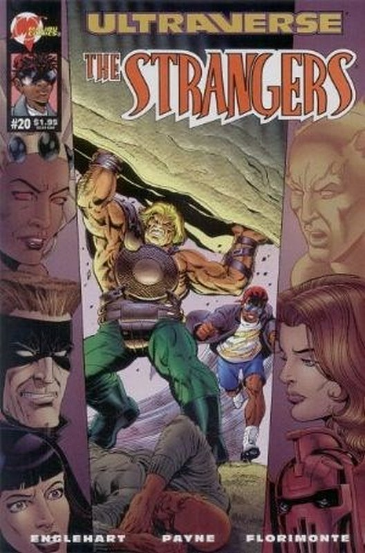 Cover of Strangers (Vol 1) The #20. One of 250,000 Vintage American Comics on sale from Krypton!