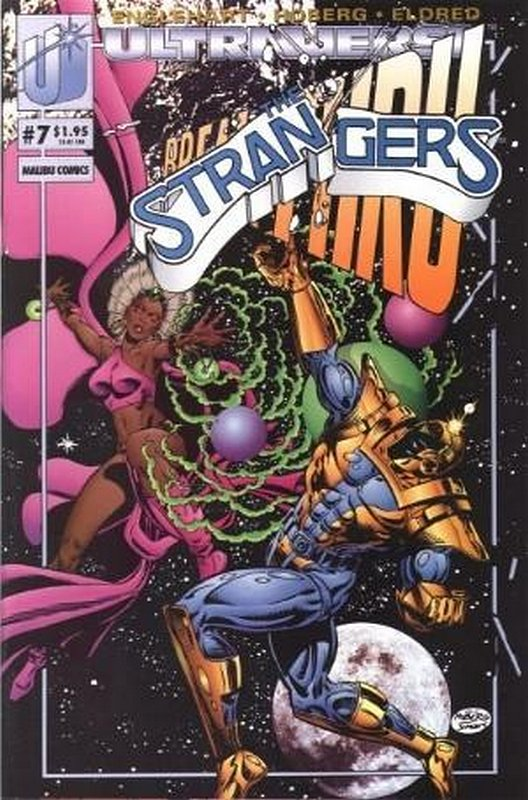 Cover of Strangers (Vol 1) The #7. One of 250,000 Vintage American Comics on sale from Krypton!