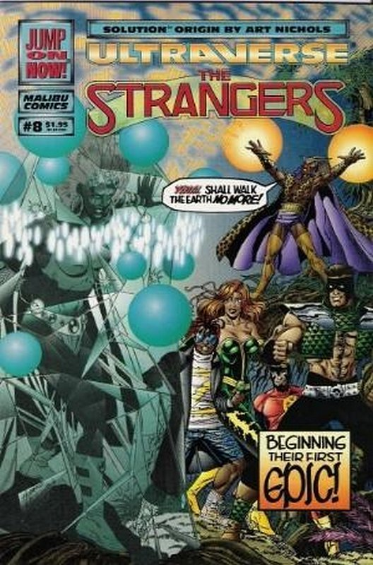 Cover of Strangers (Vol 1) The #8. One of 250,000 Vintage American Comics on sale from Krypton!