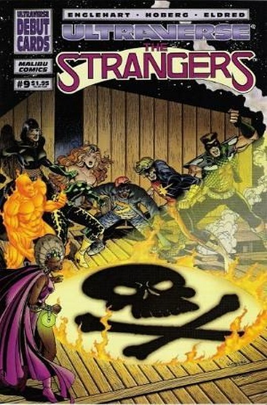 Cover of Strangers (Vol 1) The #9. One of 250,000 Vintage American Comics on sale from Krypton!
