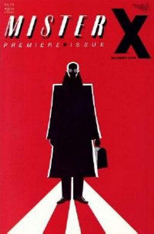 Cover of Mister X #1. One of 250,000 Vintage American Comics on sale from Krypton!