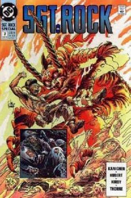 Cover of Sgt. Rock Special (Vol 1) #7. One of 250,000 Vintage American Comics on sale from Krypton!