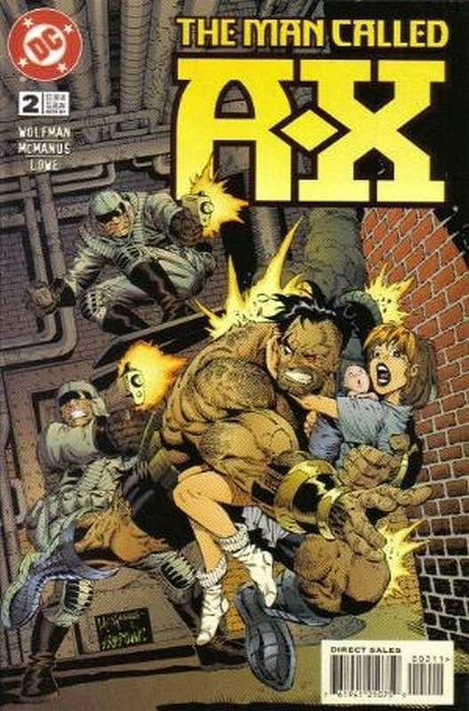 Cover of A Man called AX (Vol 1) #2. One of 250,000 Vintage American Comics on sale from Krypton!