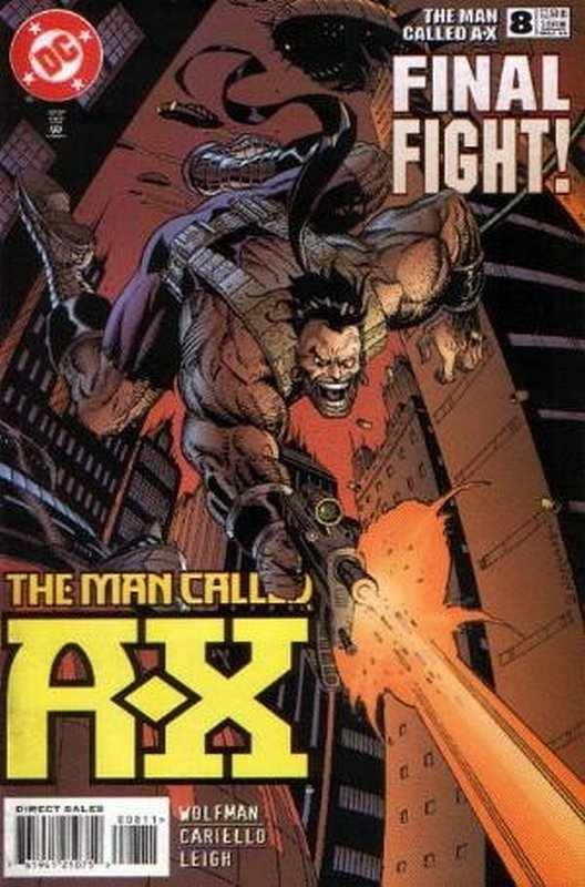 Cover of A Man called AX (Vol 1) #8. One of 250,000 Vintage American Comics on sale from Krypton!